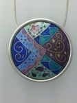 Cloisonné Enamel – The Making of my New Magic Carpet Pendant