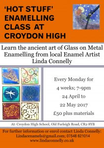 Enamelling Classes in Croydon