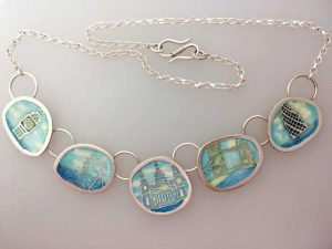 Map of Memories Necklace - London