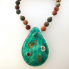 Fossil-necklace-with-tourmalineand-opal