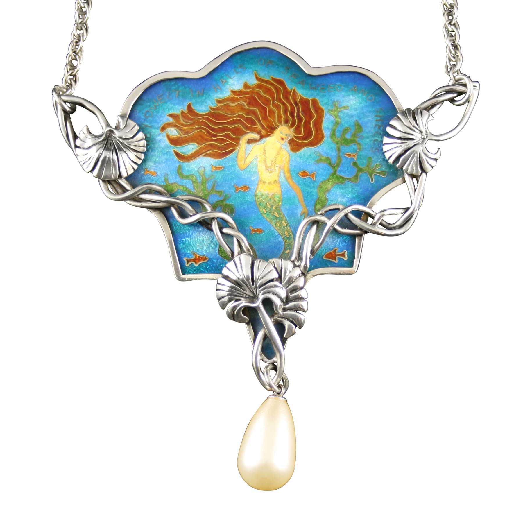 Mermaid-Pendant