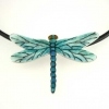 Dragonfly-Pendant-Silver