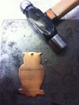 Filling Holes in a Ready Made Copper Blank