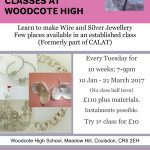 Silver Tuesday Jewellery Class